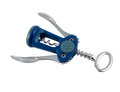 Blue corkscrew Royalty Free Stock Photo