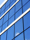 Blue corporate building Royalty Free Stock Photo