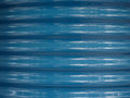 Blue corrugated steel texture background Royalty Free Stock Photo