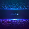 Blue cosmic star dust abctract background vector Royalty Free Stock Photo