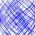 Blue criss Cross net pattern line on white background . Vector illustration for wallpaper prints and printable materials . Royalty Free Stock Photo