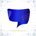 Blue cristmas tape for your business Royalty Free Stock Photo