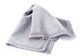 Blue Crocheted Napkin On White