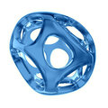 Blue crystal abstract. Jewelry concept