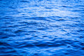 Blue current in big river Royalty Free Stock Photos