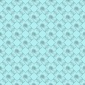 Blue damask seamless wallpaper Royalty Free Stock Photos