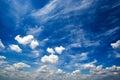 Blue Daylight Summer Sky With ...