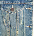 Blue denim Royalty Free Stock Images