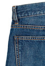 Blue denim Stock Images
