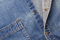 Blue Denim Royalty Free Stock Photos