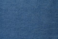 Blue denim fabric Royalty Free Stock Photo