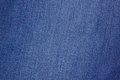 Blue denim fabric can be used as background Royalty Free Stock Photos