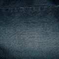Blue denim fabric for pants Royalty Free Stock Photo