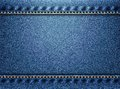 Blue denim texture background Royalty Free Stock Photo