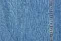 Blue denim texture Royalty Free Stock Photo