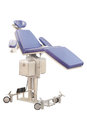 Blue dental chair Royalty Free Stock Photo