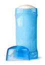 Blue deodorant container cap near Royalty Free Stock Photo