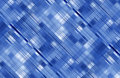 Blue diagonal abstract background. Stock Photography