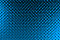 Blue dirty checkered steel plate