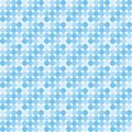 Blue disco pattern Royalty Free Stock Photography