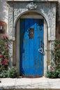 Blue Door. Royalty Free Stock Photo