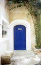 Blue Door - Provence Royalty Free Stock Photos