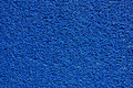 Blue doormat at room Royalty Free Stock Images