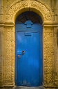 Blue Doorway, Essaouira Royalty Free Stock Photos