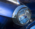 Blue Dot Headlight Stock Photo