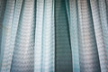 Blue drapes Royalty Free Stock Photo