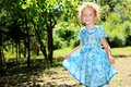 Blue dress Royalty Free Stock Photos