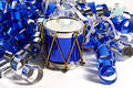 Blue Drum Royalty Free Stock Photo