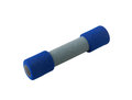 Blue dumbbell Stock Photography