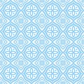 Blue east patterns Stock Images