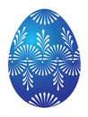 Blue Easter Egg Stock Images