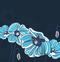 Blue elegance background Royalty Free Stock Images
