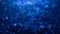 Blue elegant abstract bokeh background Royalty Free Stock Photo