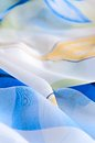 Blue Fabric Royalty Free Stock Image