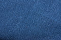 Blue fabric close up on Royalty Free Stock Photography