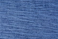 Blue fabric swatch Stock Photos