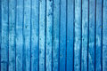 Blue fence painted as a a background image Royalty Free Stock Images