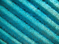 Blue fiber glass plate Royalty Free Stock Images