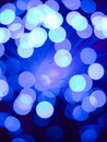 Blue fiber optic background Royalty Free Stock Photo