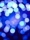Blue fiber optic background Royalty Free Stock Photo