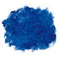 Blue fingerpaint Stock Photography