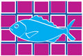 Blue Fish Stock Photography