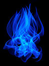 Blue flame Royalty Free Stock Images