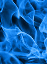 Blue flame background Royalty Free Stock Photo