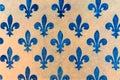 blue Fleur de lis wallpaper fleur-de-lis Royalty Free Stock Photo