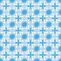 Blue flower tracery abstract regular on a square background Royalty Free Stock Photo